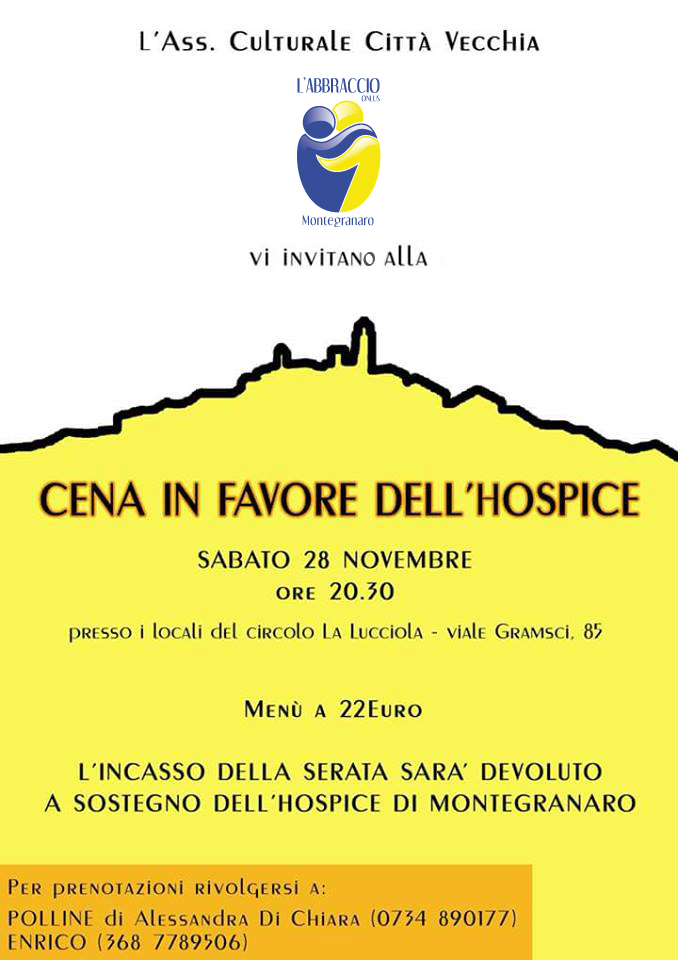 Cena in Favore dell'HOSPICE