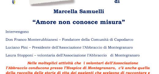 Amore non conosce misura Marcella Samuelli